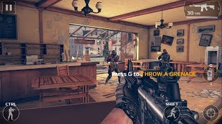 Modern Combat 5 Blackout Gameplay  pc Part 1   Chapter 1  The Venice Lie