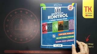 Bilfen Yayınları Lgs 1.dönem Gerçek Kontrol Tekrar Kitabı Tanıtım Videosu - Lgs Kitap Tanıtım