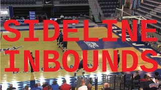 Learn a Fantastic Sideline Inbounds Play! - Basketball 2016 #53