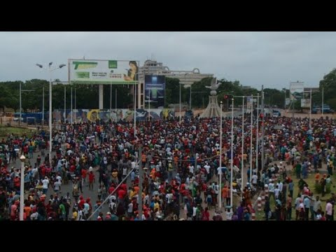 Mass anti-government protests in Togo for a second day