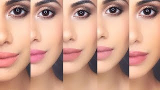 MY TOP 10 FAV NUDE LIPSTICKS OF ALL TIME! Swatches | Malvika Sitlani
