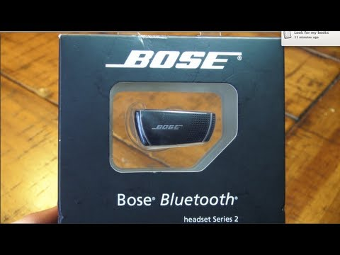 Bose Bluetooth Series 2 Unboxing - YouTube