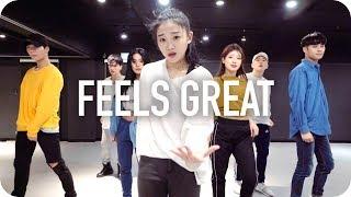 Feels Great - Cheat Codes ft. Fetty Wap & CVBZ / Yoojung Lee Choreography