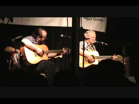 Doc Watson performs