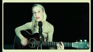 STEPPIN'  OUT WITH MY BABY - IRVING BERLIN - cover by Anna Scott (vocals/guitar) solo performance