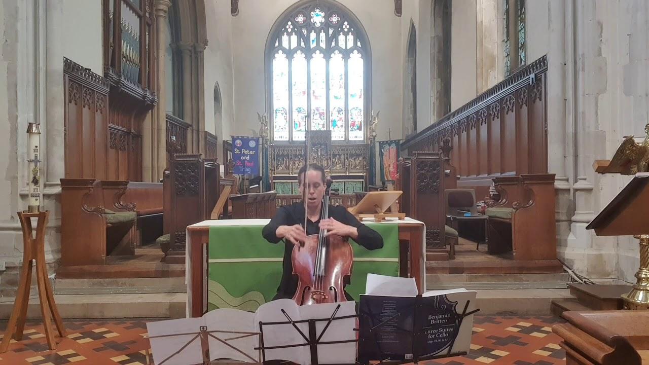 Britten Cello Suite no. 3
