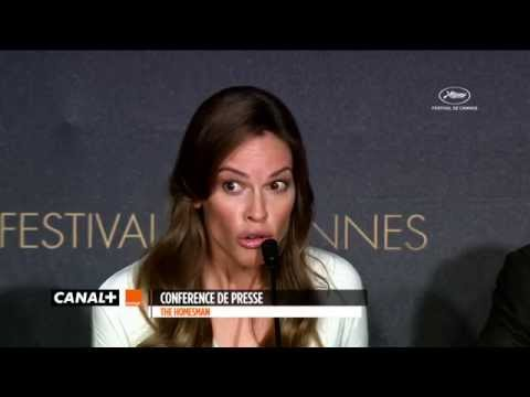 Cannes 2014  Hilary Swank :