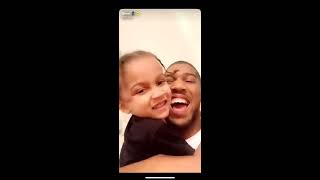 Download Anthony Joshua already training his son!!! Mp3 and Videos