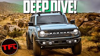 The Ford Bronco Is BACK! Here's How It Stacks Up To The Wrangler, 4Runner & Defender!