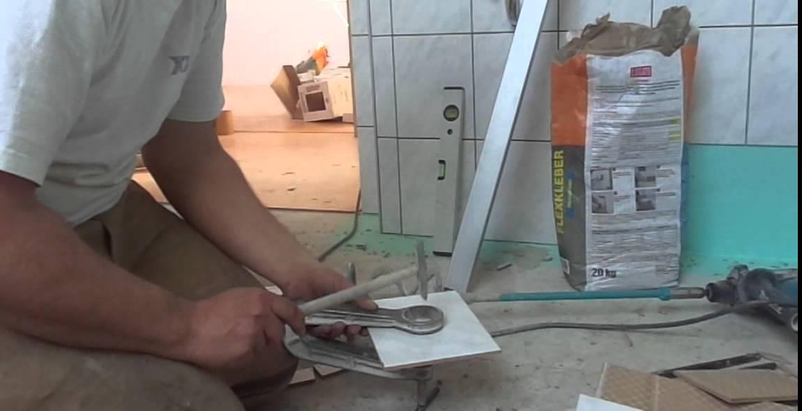 Loch In Fliese Hauen YouTube - Löcher in fliesen zu machen