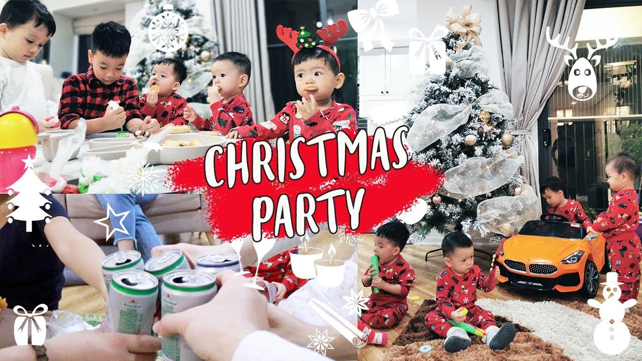 Vlogmas Day 14 🎄  Bơ Mời Các Bạn Đến Chơi Nhà Trang Trí Bánh Giáng Sinh ❤️  TrinhPham Family
