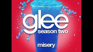 Glee - Misery [LYRICS]