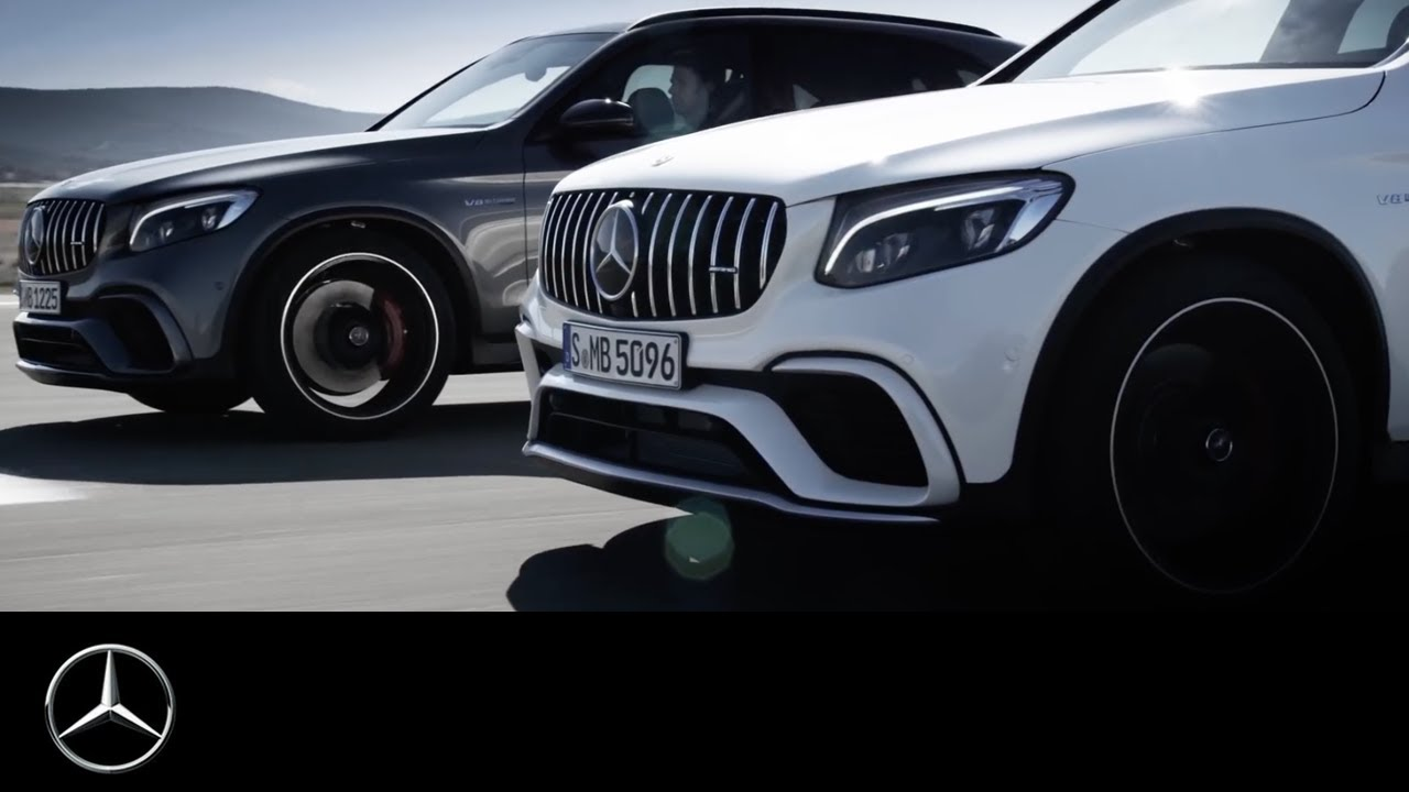 NBKA Mercedes-Benz Qatar: Mercedes-Benz GLC 63 AMG - YouTube