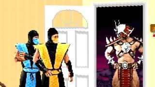 Скачать Mortal Kombat Sitcom Shao Kahn Comes To Dinner