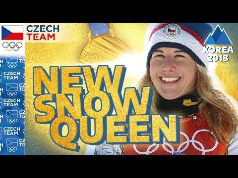 Golden Ester Ledecká: Interview with the NEW SNOW QUEEN | #czechteam