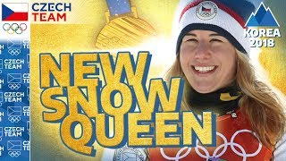 Golden Ester Ledecká: Interview with the NEW SNOW QUEEN | #czechteam
