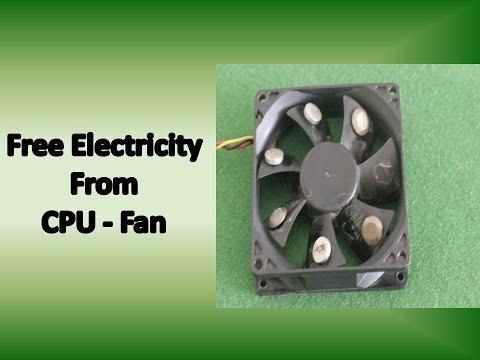 free electricity – Smart idea Free Energy Generator from CPU Fan