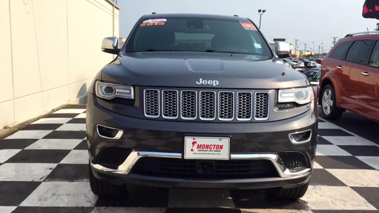 2015 jeep grand cherokee summit   navigation   backup camera