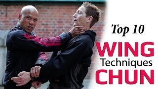 Top 10 Wing Chun Kung Fu Techniques For Real Self Defense