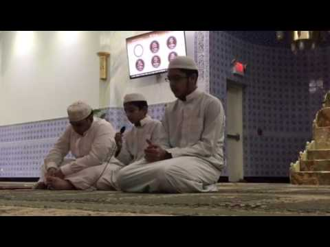 Recitation at Institute of Islamic Education Elgin