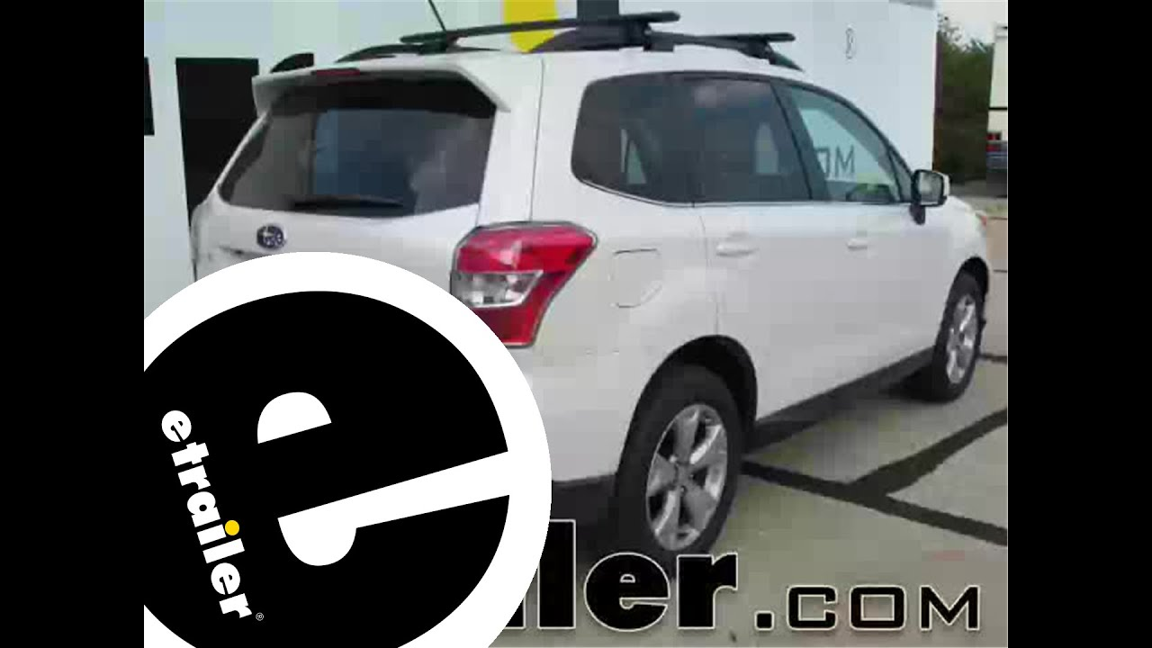 installation of a trailer wiring harness on a 2015 subaru forester -  etrailer com