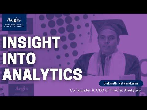 Srikanth Velamakanni, Co-founder & CEO of Fractal Analytics gving insight on analytics @Aegis