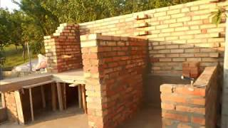 Repeat youtube video Zidanje pecenjare i pusnice 1 i 2