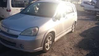 Видео-тест автомобиля Suzuki Aerio (Rd51s-101009, M18A, серебро, 2003г)