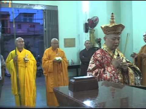 Chùa Huệ Nghiêm - Lễ Khai Quang Đại Hùng Bảo Điện - Dâng Lục Cúng