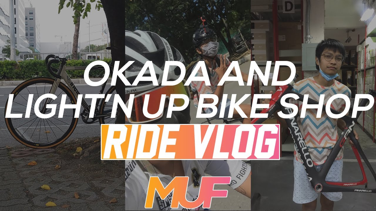 Okada Manila and Light'n Up Ride Vlog   Manila Urban Fixed