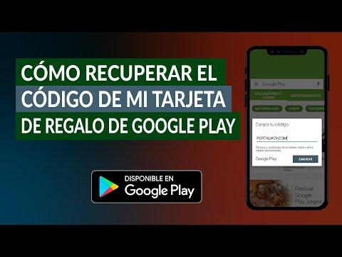 Cómo Recuperar el Código de mi Tarjeta de Regalo de Google Play