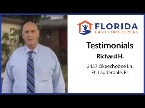 Florida Cash Home Buyers - Testimonial - Richard