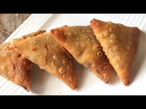 Crispy chicken samosa recipe iftar recipes Ramzan recipes