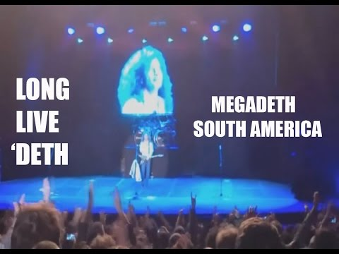 Megadeth South America 30 Years (Long Live 'Deth)