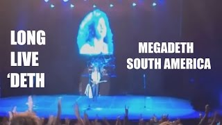 Megadeth South America 30 Years (Long Live