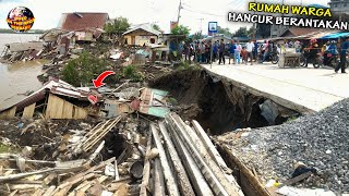 Download Tanah Tiba² Ambles Menjelang Buka Puasa Bikin Warga Panik, Seluruh Harta Benda Ludes