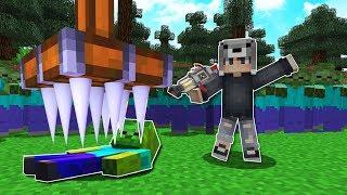 EN DİKENLİ TUZAKLAR VS ZOMBİ KIYAMETİ! 😱 - Minecraft