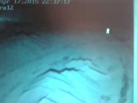 Просматривал запись с видео камеры и увидел жуткий призрак. Мурашки по коже. Часть 1.