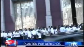 PLANTONES SINAUT SUNAT 12-04-2012 : Reportaje Canal 11- RBC TELEVISION
