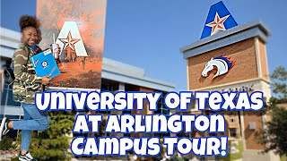 UTA Campus/Housing Tour! | Kirra Brooks