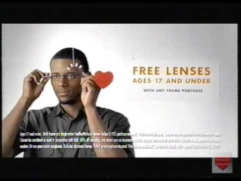 Lenscrafters Television Commercial 2009