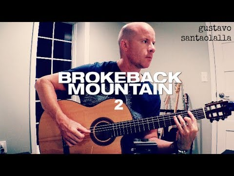 Gustavo Santaolalla: Brokeback Mountain 2 theme for guitar + TAB mp3