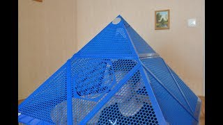 Пирамида для медитаций «ARATRA trinity»