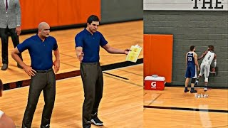 NBA 2K16 MyCAREER - Live Practice #7 A Surprise Legend Came To See Cam! Cam Farts In Teammates Face!