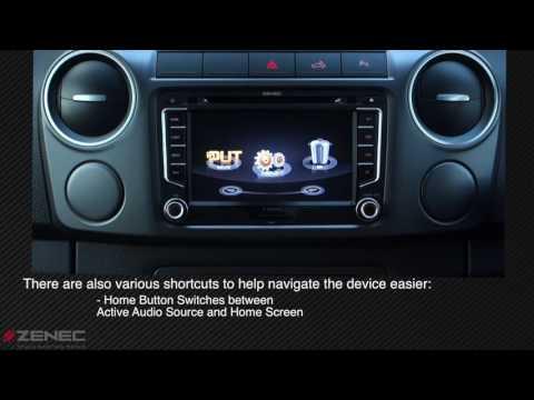 Zenec Z-E2026 EGO for VW and Skoda