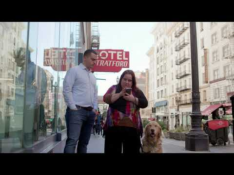 Microsoft's Soundscape app helps blind people get around town with 3D audio cues