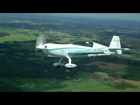 Electric aircraft: World-record electric motor makes first flight.