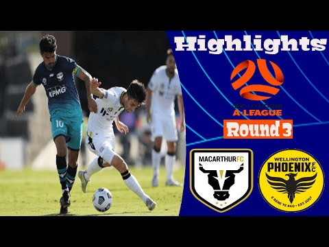Macarthur FC Wellington Phoenix Goals And Highlights