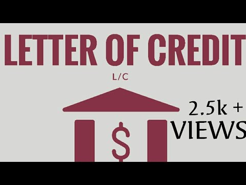 LETTER OF CREDIT Basic In Tamil YouTube