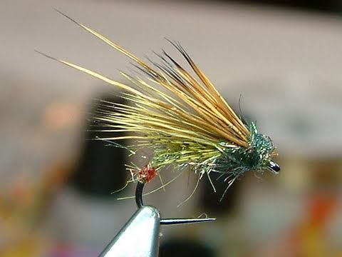 Tying A Green Peter Caddis By Davie Mcphail Youtube